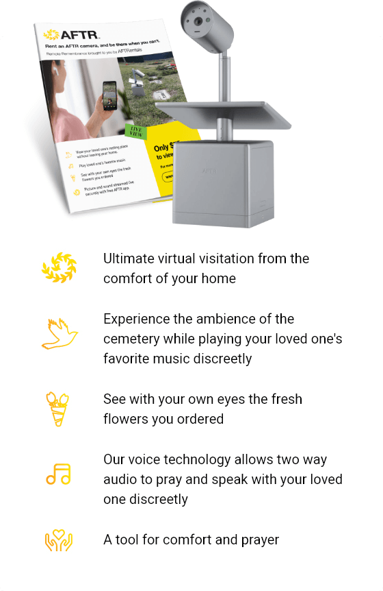 Virtually Visit Your Loved One's Resting Place