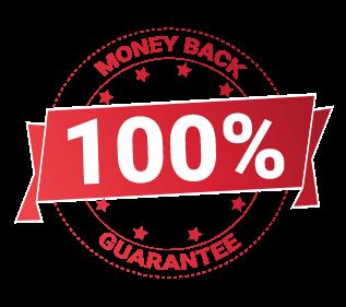 Buy Risk Free. 100% Money Back Guarantee